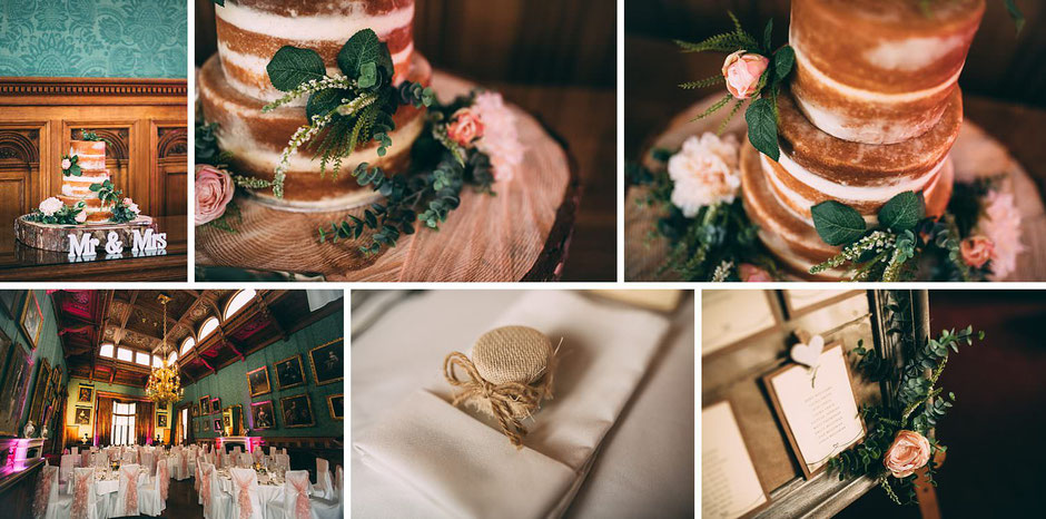detail photographs from a Knowsley Hall wedding
