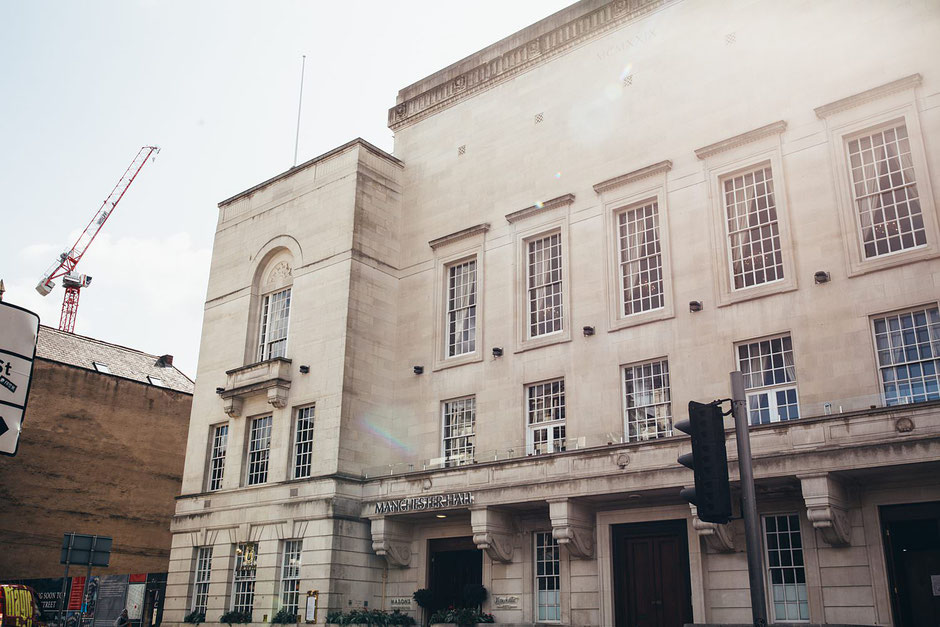 Manchester Hall Facade