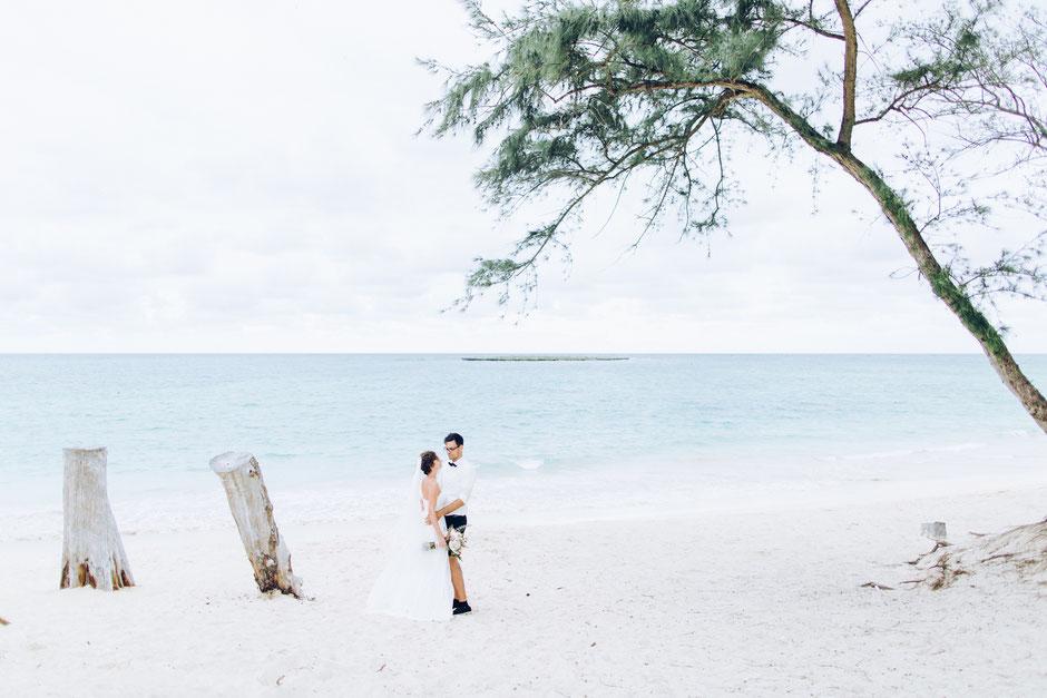 photograph of a wedding hawaii