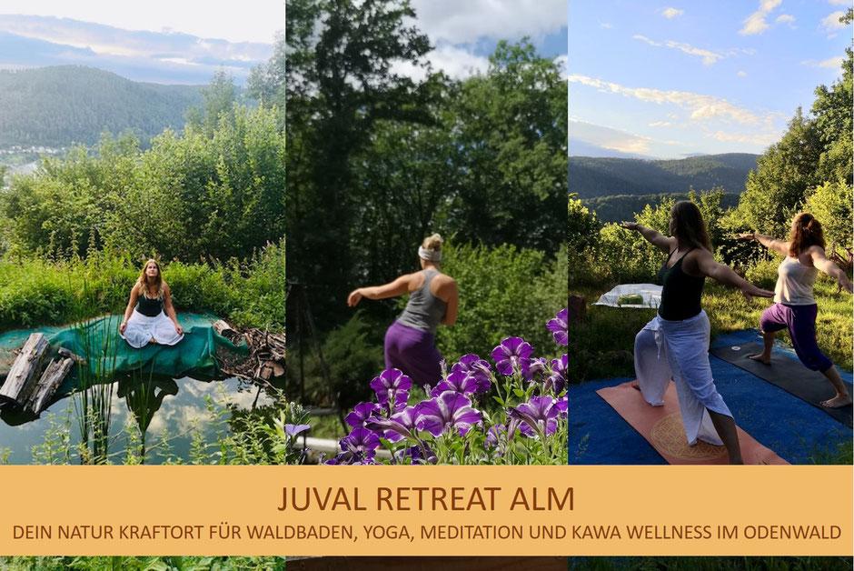 Yoga und Meditation auf der Juval Retreat Alm