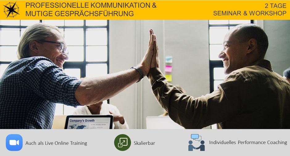 Professionelle Kommunikation und mutige Gesprächsführung