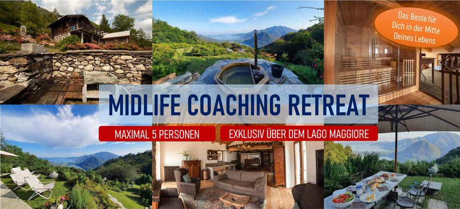 Midlife Coaching Retreat auf einer Alm am Lago Maggiore in Italien