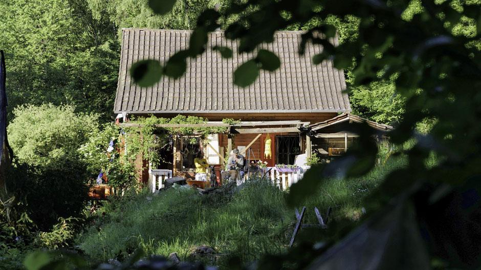Coaching Retreat Tage auf der Juval Retreat Alp im Odenwald