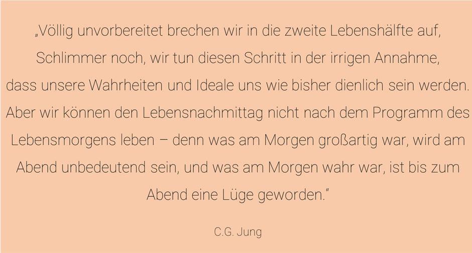 Die zweite Lebenshälfte mit C.G. Jung