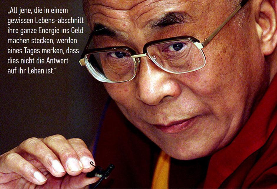 Dalai Lama Geld verdienen
