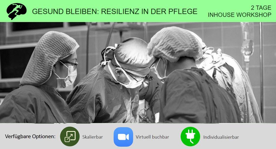Seminar: Gesund bleiben - Resilienz in der Pflege