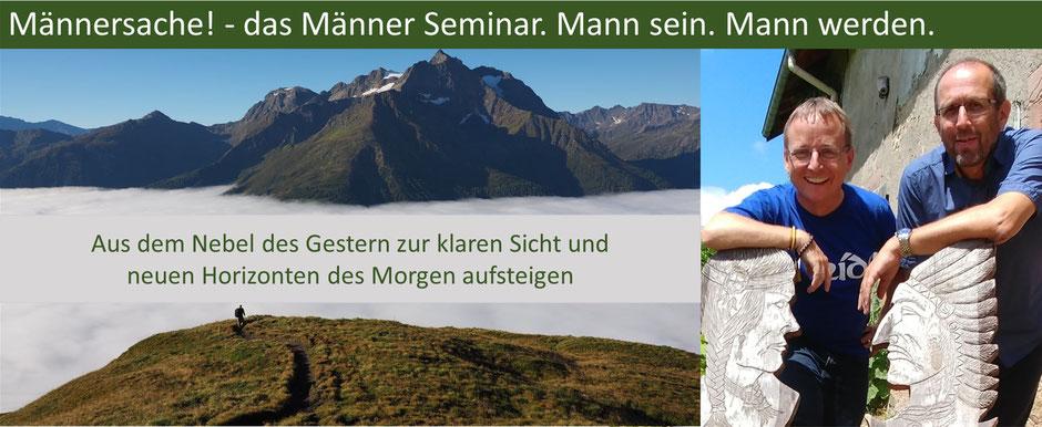 Retreat und Seminar für Männer