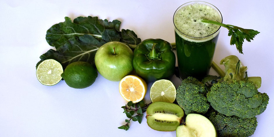Institut PranaHvital - Blog - Jus green detox