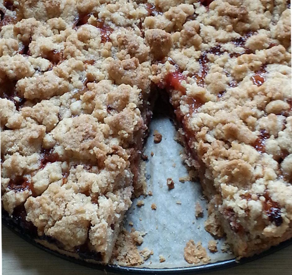 Zwetschgenkuchen Mit Streusel Vegan Vegane Gesundheit Vilshofen