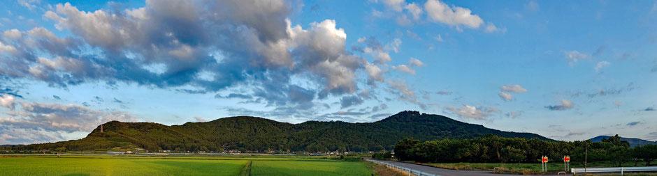 6/29 04:54 岩間愛宕山全景