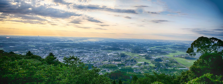 6/29 05:31 岩間愛宕神社からの風景