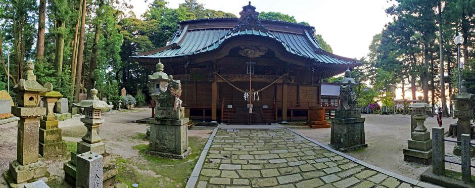 6/25 05:21 岩間の愛宕神社