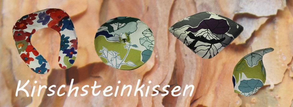 Kirschsteinkissen Kirsch Stein Kissen zum wärmen und kühlen