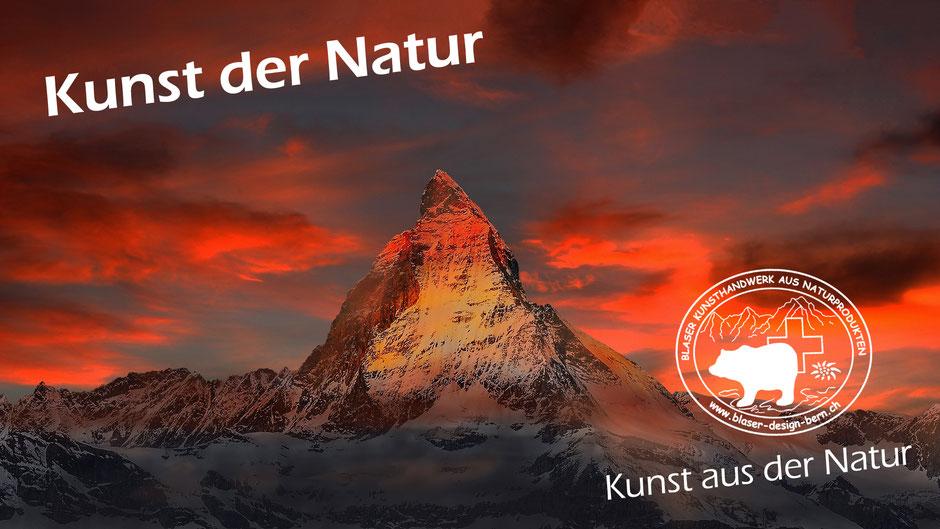 Typisch Schweiz Matterhorn
