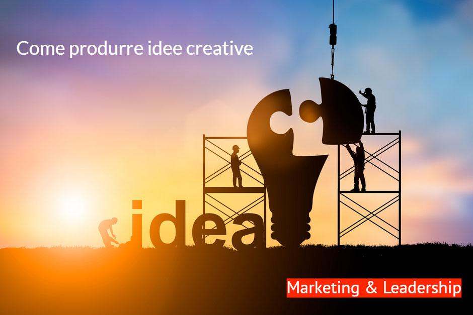 Come costruire idee creative - Remo Luzi