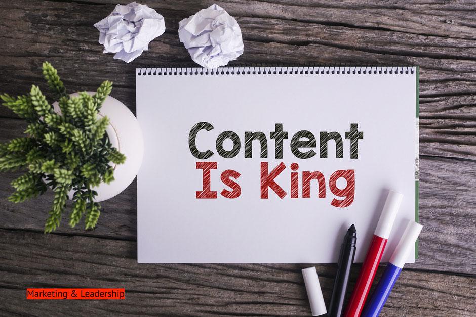 Content is king: la strategia dei contenuti nel marketing