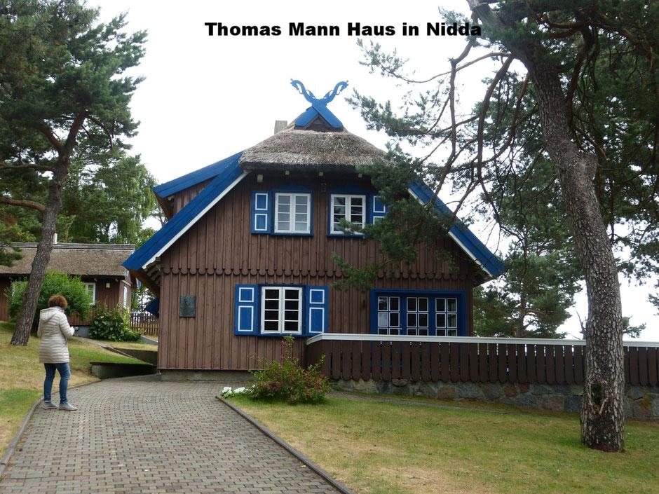 Thomas Mann Haus in Nidda auf der Kurischen Nehrung
