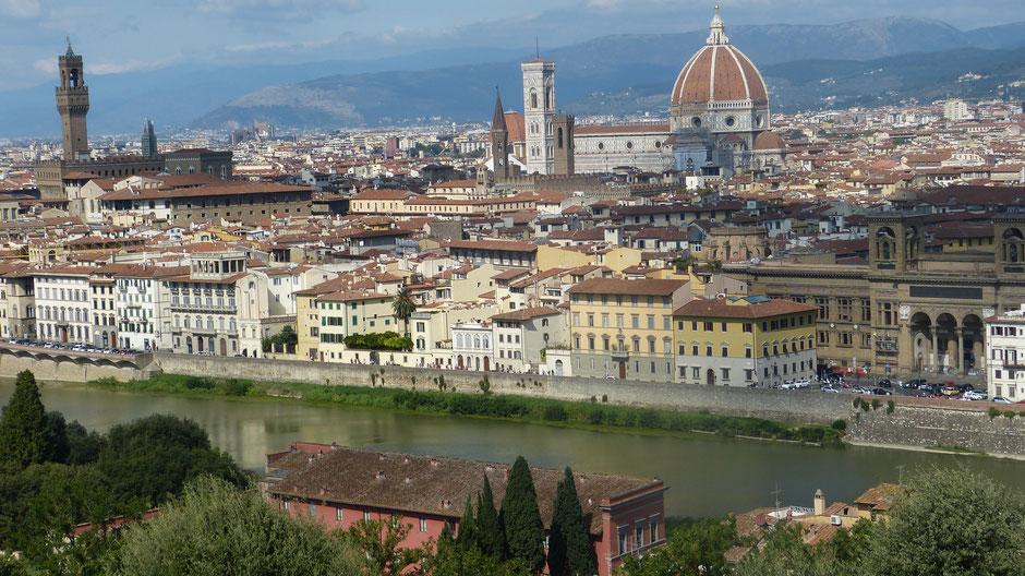 Dom von Florenz mit Campanile und Baptisterium