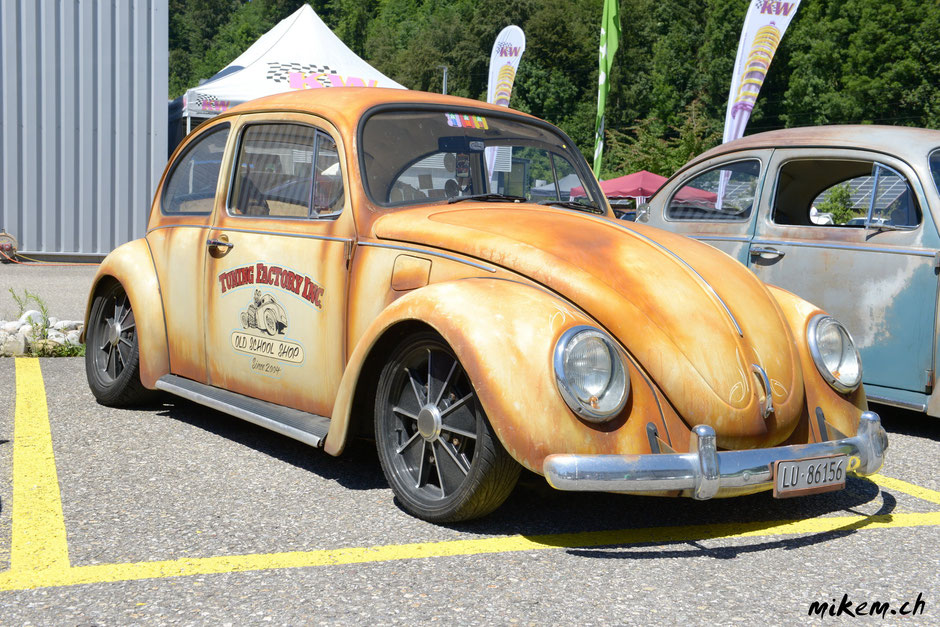 VW Käfer mit coolem Tuning, mein Favorit