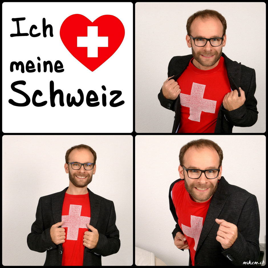 Nationalfeiertag, Schweiz hat Supermann