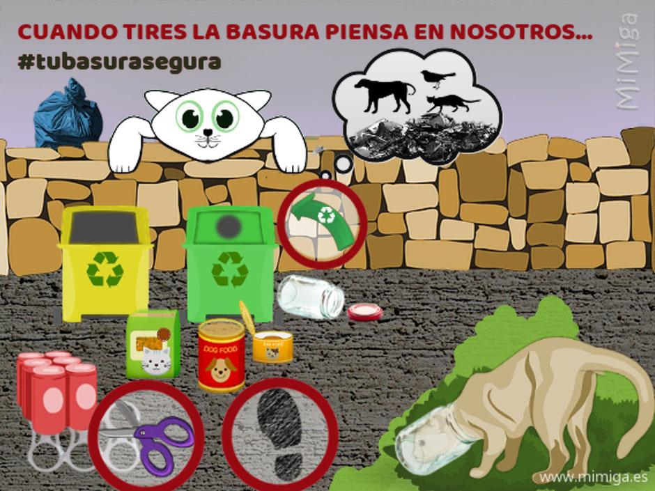 cartel-tu-basura-segura-recicla-pensando-en-los-animales
