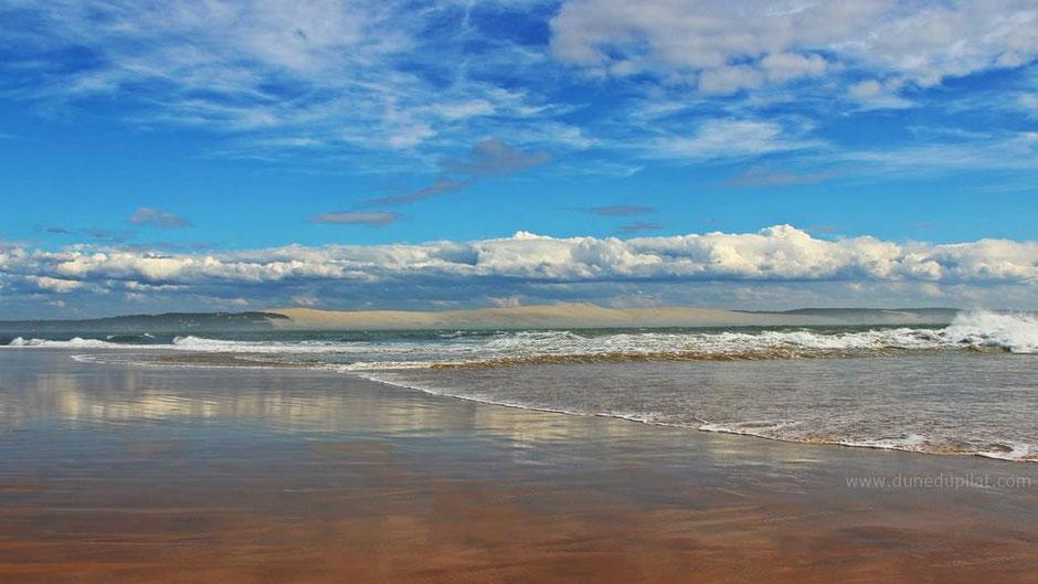 La dune vue depuis la Pointe du Cap Ferret