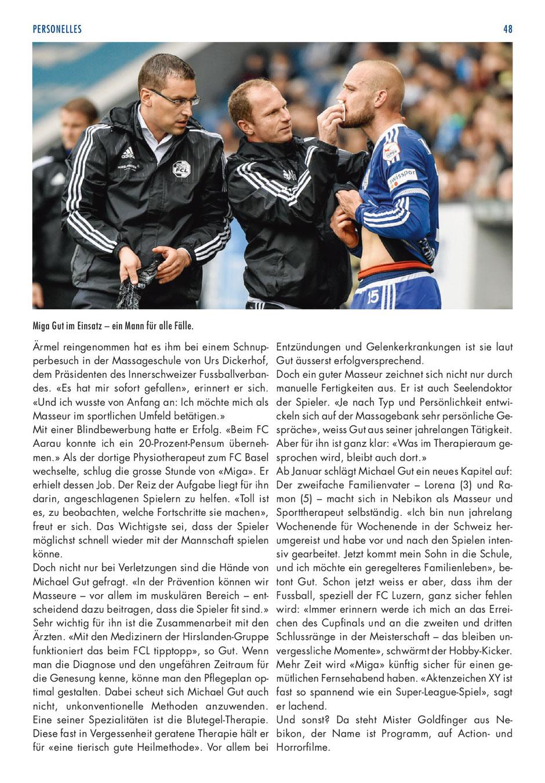 MATCHZYTIG FCL - Samstag, 3. Dezember 2016 - Seite 48