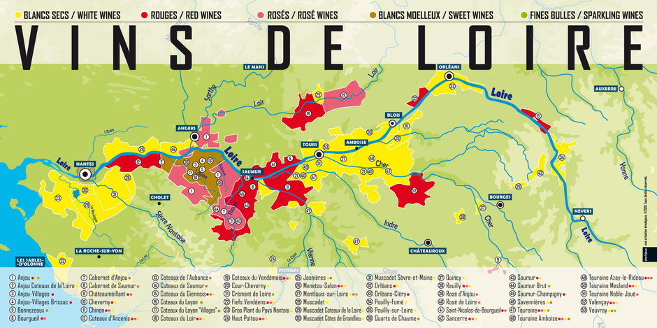 VinoLoire - Vincent Delaby - carte des vins de Loire ©InterLoire