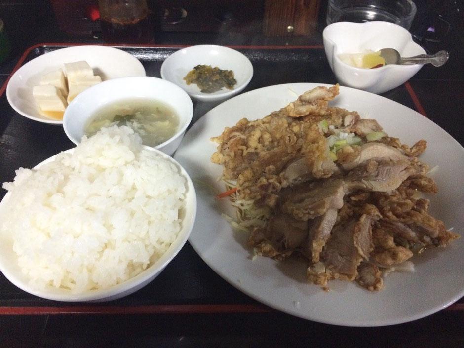 翔悦油淋鶏定食