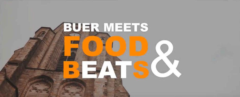 Titel Streetfoodfestival Buer meets Food & Beats