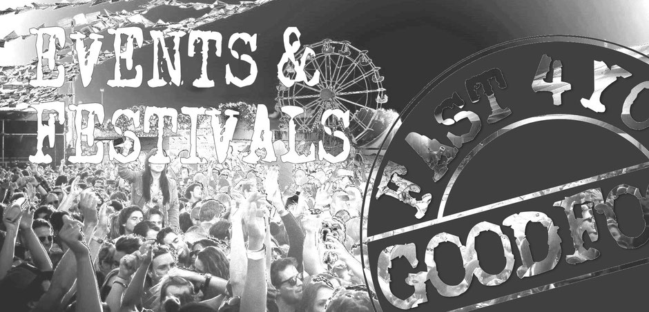 Plakat Events & Festivals