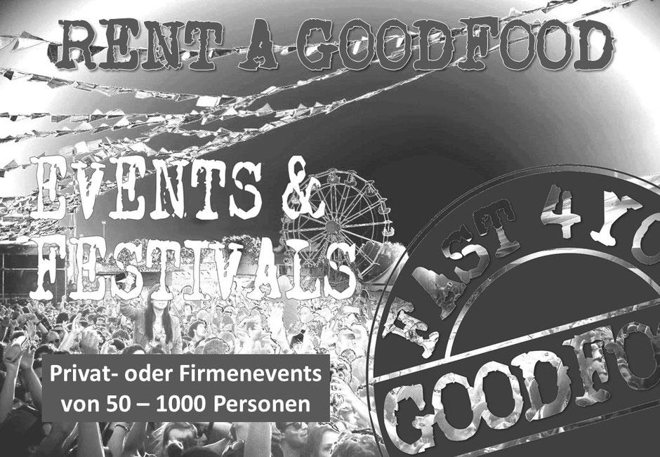 Logo RENT A GOODFOOD TRUCK für private oder Firmenevents von 50 - 1000 Personen