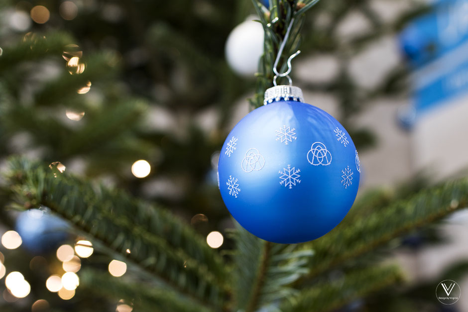 Weihnachtskugel ThyssenKrupp Testturm Rottweil Fotograf Virginie Varon
