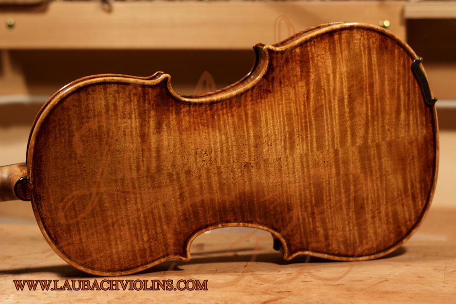 Laubach's limited edition violin 188V antique