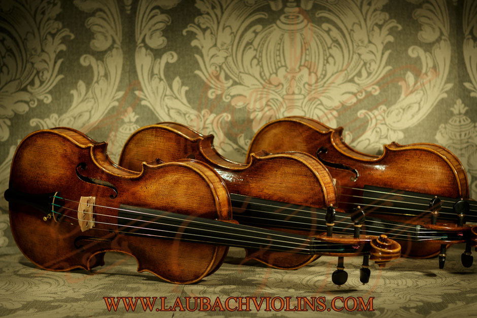 Orchestra Violin  Laubach model 888V with the  antique look