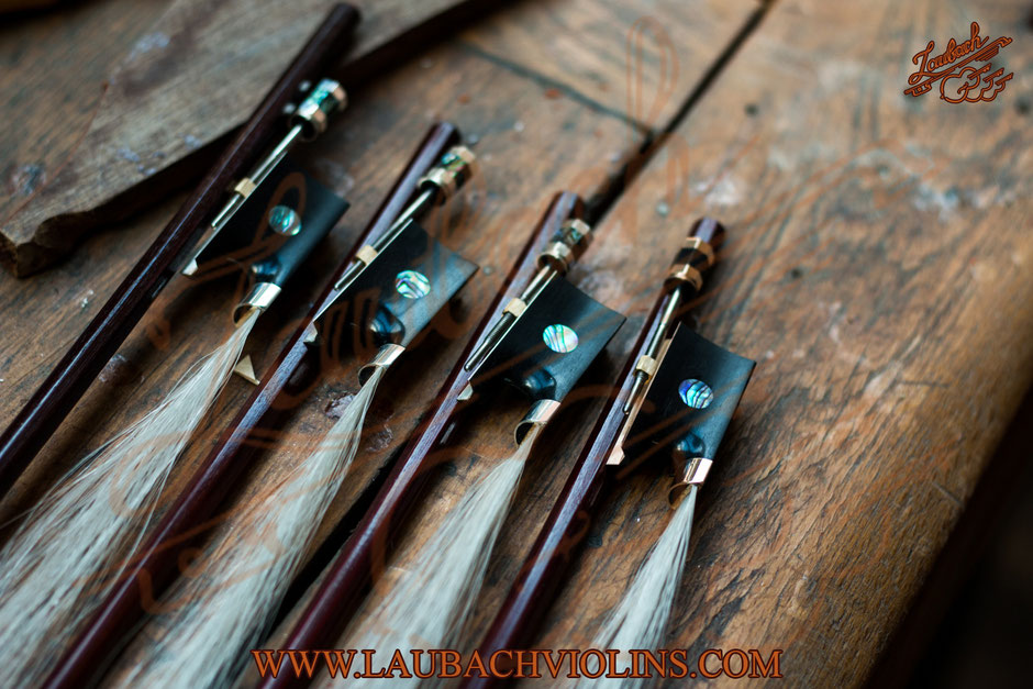 Laubach 선택된 페르 남부 쿠 나무  바이올린 비올라와 첼로를위한 마스터 활
