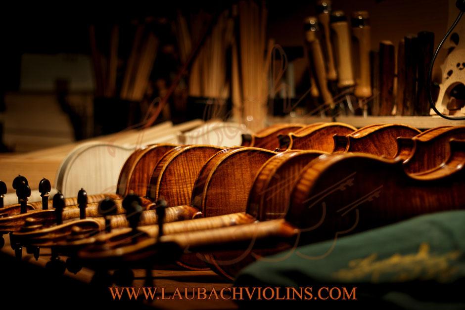 Laubach master VIOLINEN  /  VIOLINS / マスターバイオリン / 마스터 바이올린 / 小提琴大師