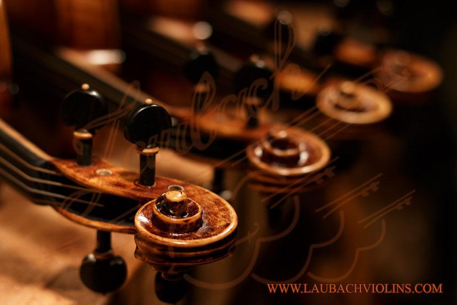 LAUBACH MASTER  VIOLIN 188V ANTIQUE OLD WOOD