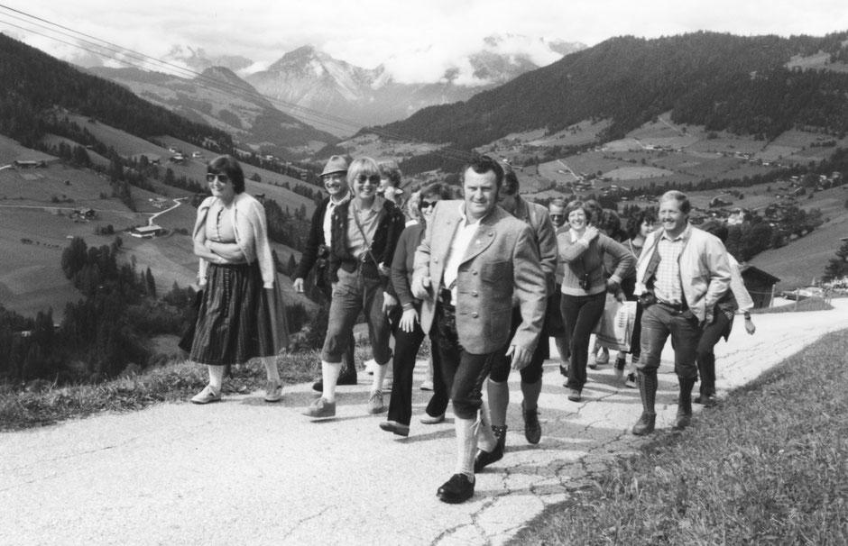 17. September 1993: Chorausflug ins Alpbachtal