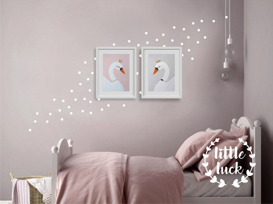 Wandsticker | Sticker - Formen - Dots | Konfetti | Kreise | Punkte - 2cm