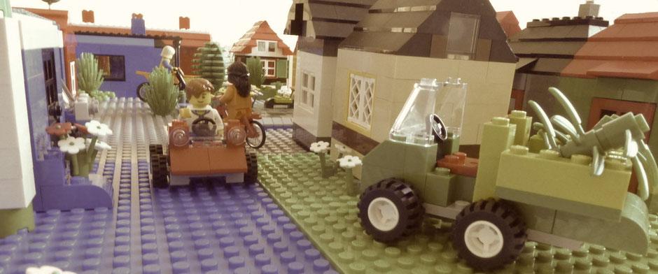 """Bild / Lego-Stadt """"Agilo"""""""