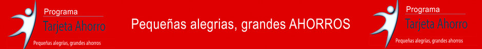 Ahorra 1.000€ en tus compras anuales o más, con nuestra tarjeta AHORRO