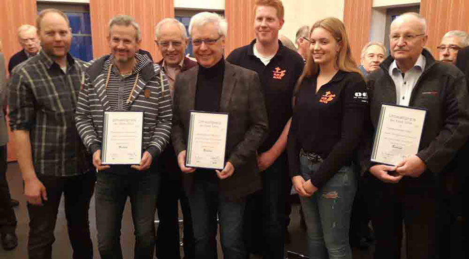 Verleihung des Umweltpreises Olfen 2018 - Foto: HPD