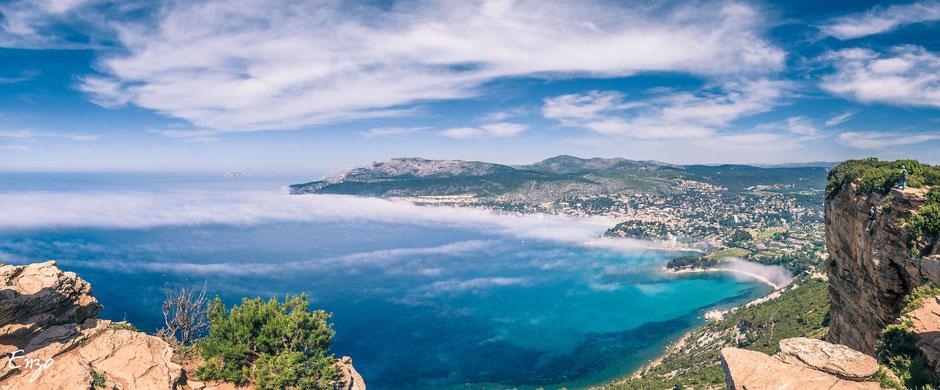 Cassis, la route des crêtes - Marseille
