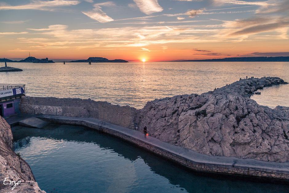 Piscine du Vallon des Auffes - Marseille