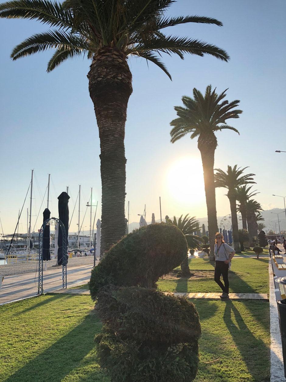 Hafenpromenade in Kavala