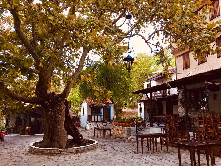 Dorfkern von Megalo Kasaviti