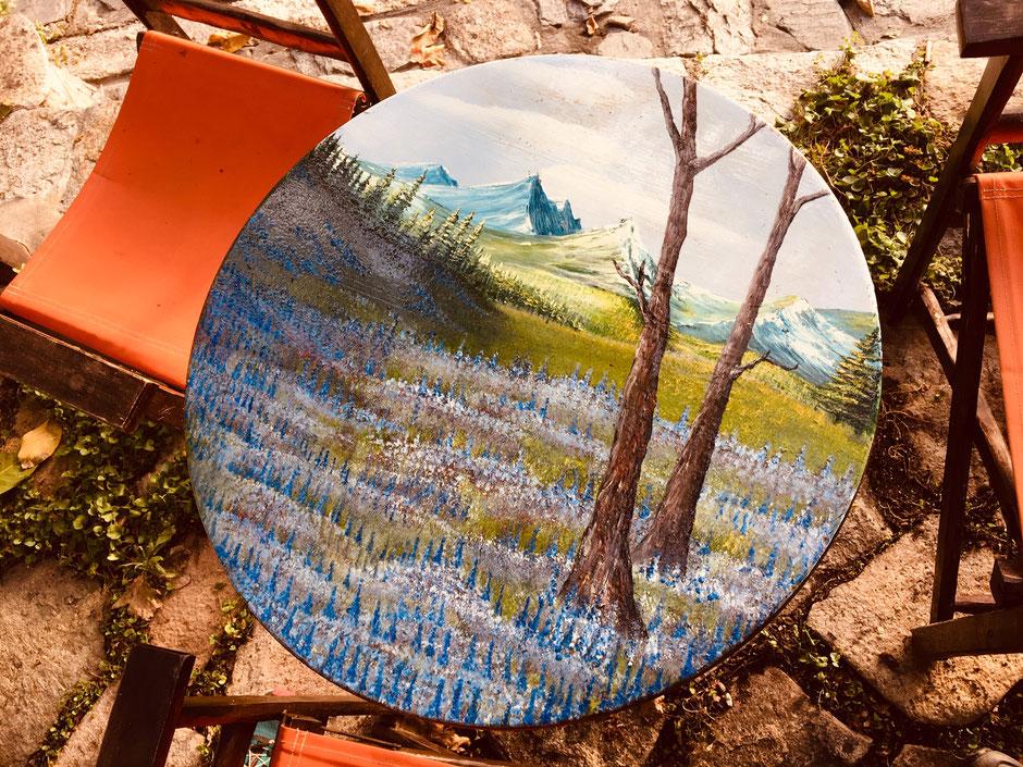 Künstlercafé in Megalo Kasaviti