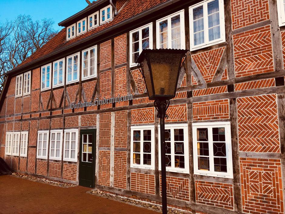 Gasthaus Heidemuseum in Wilsede // Foto ©Nicole Hacke