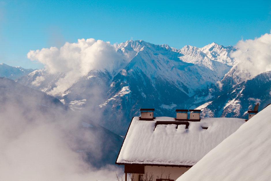 Hafling bei Meran in Südtirol